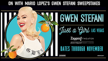 Contest Rules - ON With Mario's Gwen Stefani Sweepstakes Rules