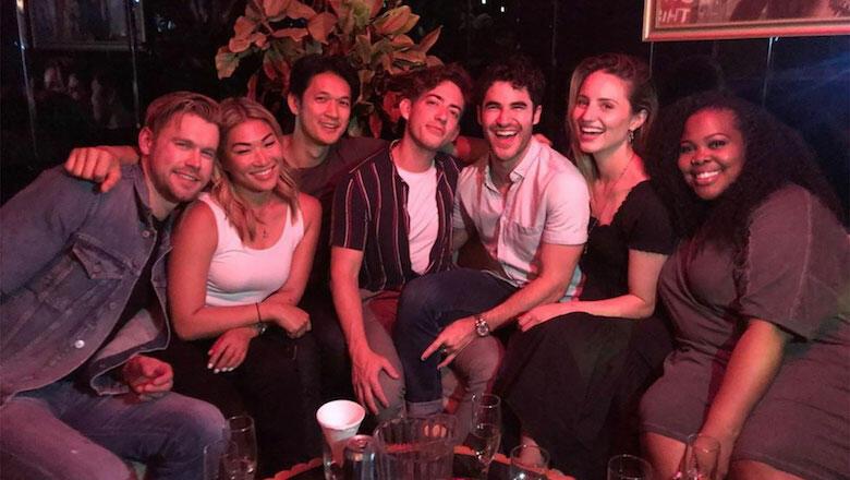 'Glee' Cast Reunites To Perform 'Shallow' At Los Angeles Piano Bar