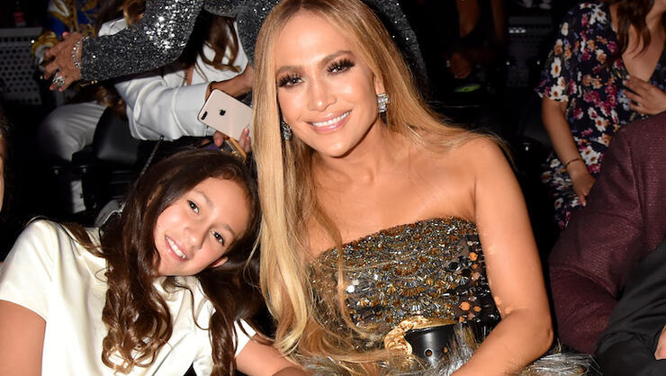 Jennifer Lopez Sings With Daughter Emme During 'It's My Party Tour' Opener | iHeartRadio