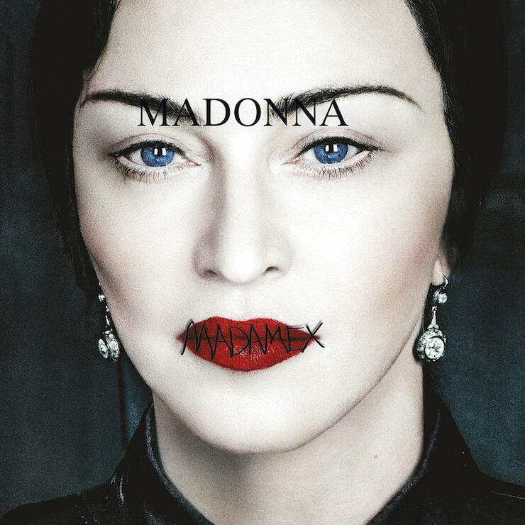 Madonna 'Madame X' Album Cover Art