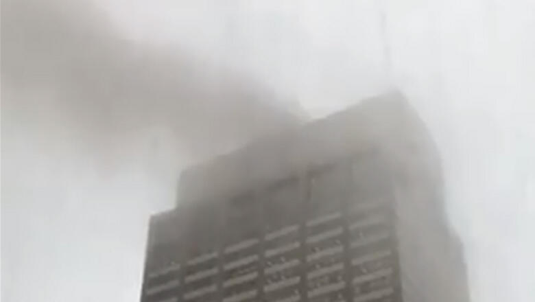 Helicopter Crashes On Top Of Building In Manhattan