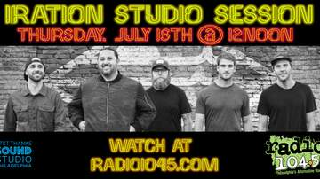 None - Iration Studio Session - Thursday, July 18 @ 12 noon