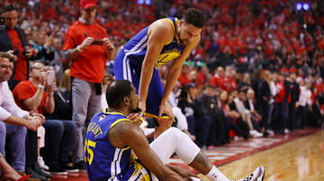 Shay Diddy - An Emotional Drake Consoled Kevin Durant After His Injury In Game 5