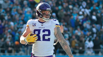 Rachel Ramsey - Kyle Rudolph staying with the Vikings