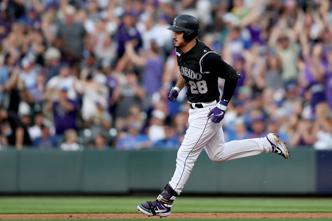 Nolan Arenado - Matthew Stockman/Getty Images