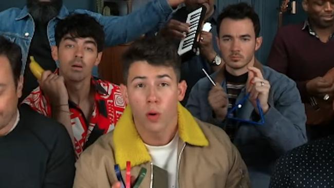 Jonas Brothers Made 'Sucker' Sound Even Better Using Classroom Instruments