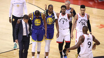 Sports Top Stories - Kevin Durant Suffers Achilles Injury During Game 5 Of The NBA Finals