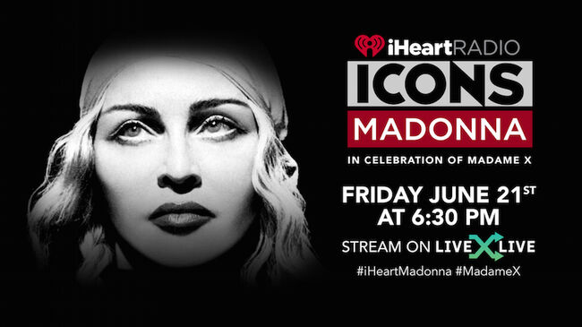 iHeartRadio ICONS with Madonna