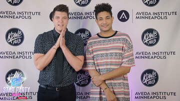 None - WATCH: Colt Challenges Bryce Vine Backstage at KDWB Star Party