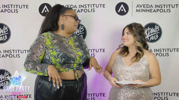 Falen - WATCH: Falen gets to know Lizzo Backstage at KDWB Star Party