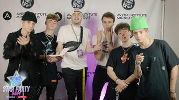 None - WATCH: Zach Dillon Catches Up with Why Don't We at KDWB Star Party
