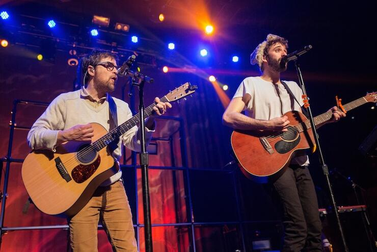 AJR Performs At Belasco Theater