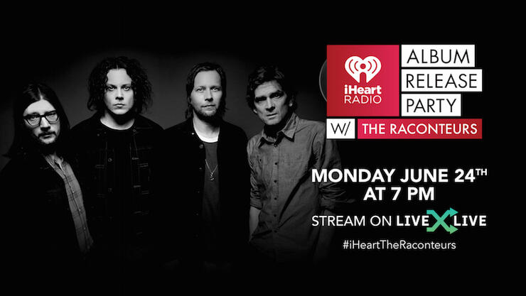 iHeartRadio Album Release Party with The Raconteurs