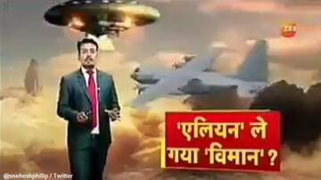 Coast to Coast AM with George Noory - Indian News Channel Suggests Missing Military Plane Was Taken by Aliens