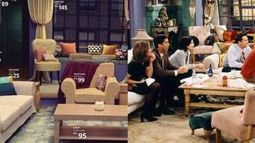 Suzette - You Can Recreate The Entire 'Friends' Living Room With IKEA Furniture