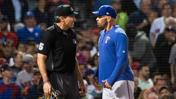 Sports Desk - Both Managers Ejected As Rangers Top Red Sox