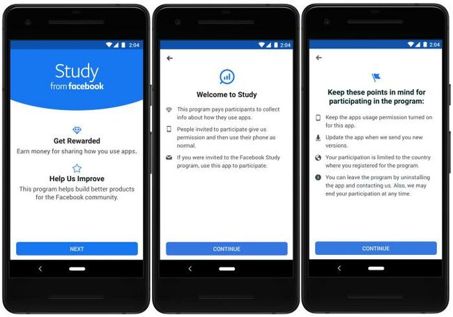 Facebook Launches New App That Pays Users For Their Data