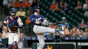 Brewers - Brewers' rally falls short, Astros win 10-8 Tuesday