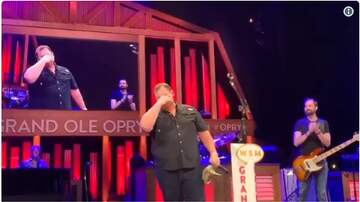 BigKat Kris Stevens - (Emotional) Luke Combs: Grand Ole Opry INVITATION