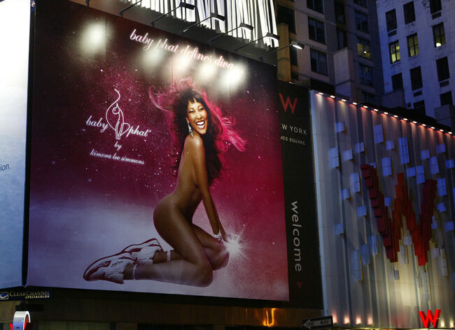 "Kimora Lee Simmons Celebrates The Launch Of Baby Phat ""Diva"" Sneaker"