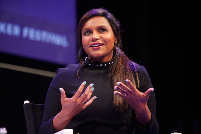 The New Yorker Festival 2014 - Mindy Kaling In Conversation With Emily Nussbaum