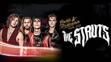 Contest Rules - Win tickets to The Struts Rules