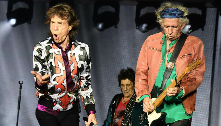 The Rolling Stones Have An Ironic 'No Filter' Tour Sponsor | iHeartRadio
