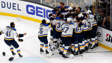 Sports - Boston Bruins Lose 4-1 In Game 7; St. Louis Blues Win The Stanley Cup