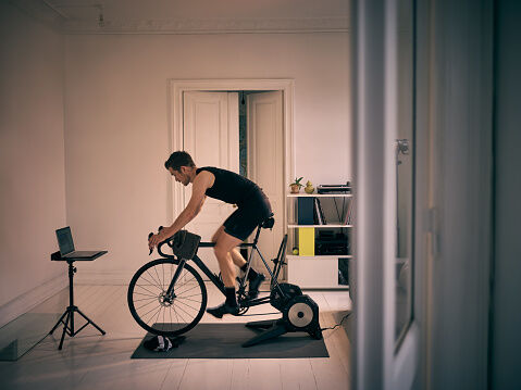 We're Home Alone – Exercising