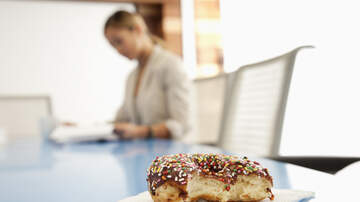 Big Rob on the Radio! - Introducing The Big Rob Donut!