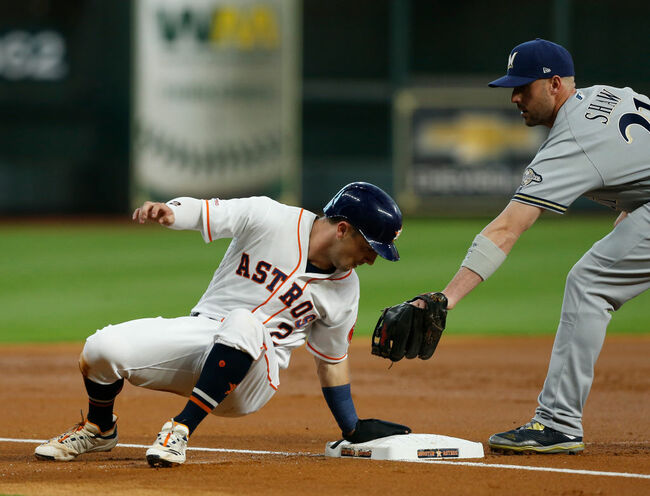 Milwaukee Brewers v Houston Astros