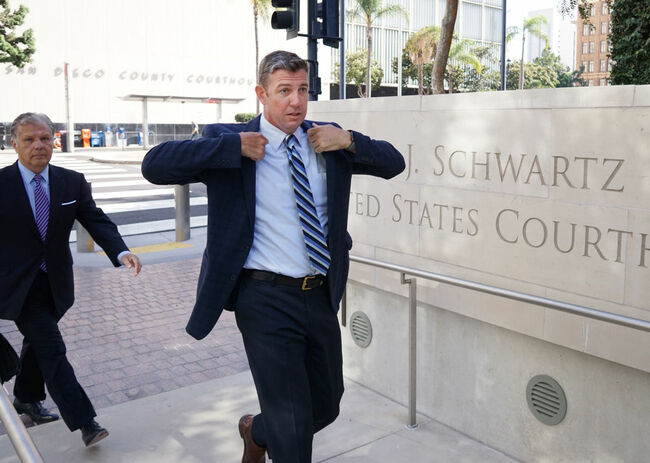 Duncan Hunter and His Wife Arraigned on Corruption Charges in San Diego