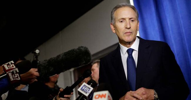 Former Starbucks CEO Howard Schultz Delivers Major Policy Address At Purdue