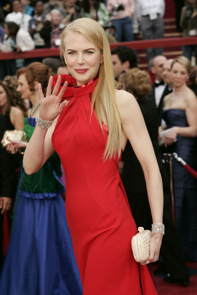 Actress Nicole Kidman arrives at the 79t