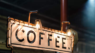Weird, Odd and Bizarre News - Can You Spot The Bizarre Optical Illusion This Coffee Sign Makes?