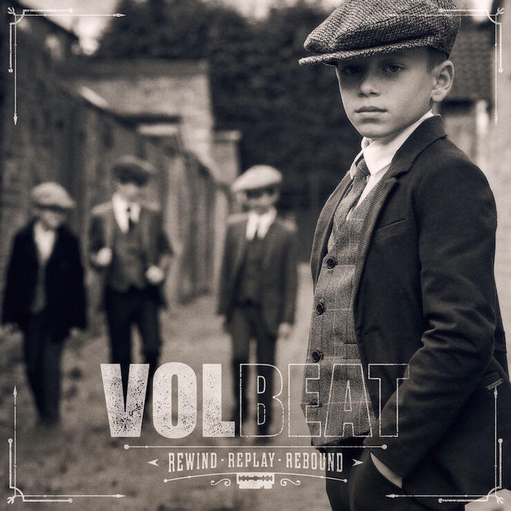 Volbeat - 'Rewind, Replay, Rebound' Album Cover Art