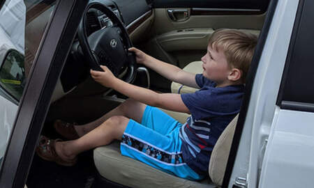 Weird News - Four-Year-Old Took Great-Grandfather's SUV For Joyride To Get Candy