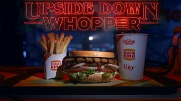 Suzette - Burger King Is Launching An 'Upside Down' Burger For Stranger Things Fans