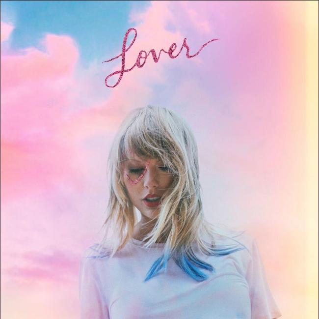 Taylor Swift - 'Lover' Album Cover Art