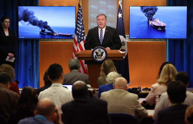 Secretary Of State Pompeo Remarks On Tankers Attacked In Gulf Of Oman