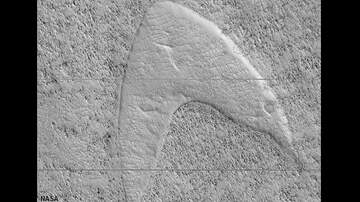 Coast to Coast AM with George Noory - NASA Photographs 'Starfleet Logo' on Surface of Mars