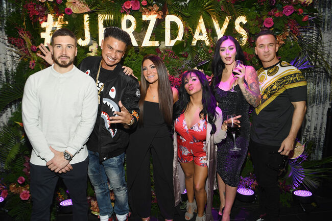 """MTV's """"Jersey Shore Family Vacation"""" New York Premiere Party"""