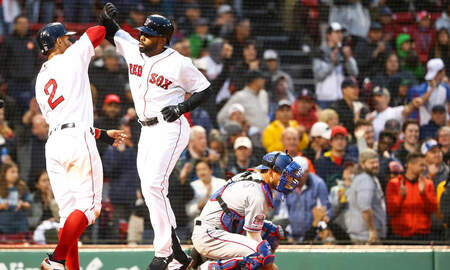 Sports Desk - Red Sox Edge Rangers
