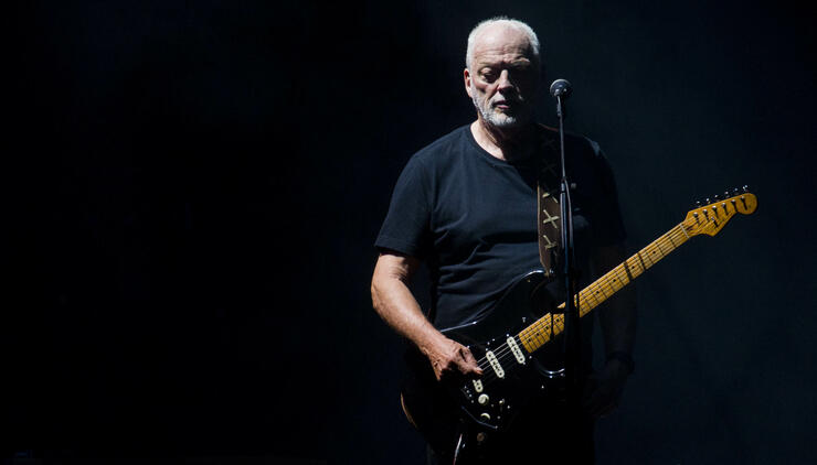 David Gilmour's Historic Guitar Collection Goes On Display In NYC | iHeartRadio