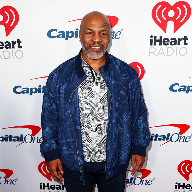 Mike Tyson at the 2019 iHeartRadio Podcast Awards