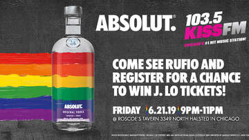 None - ABSOLUT  AND 103.5 KISS FM AT ROSCOE'S