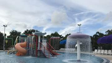 Photos - A Day at The Palm Beach Gardens community Pool !