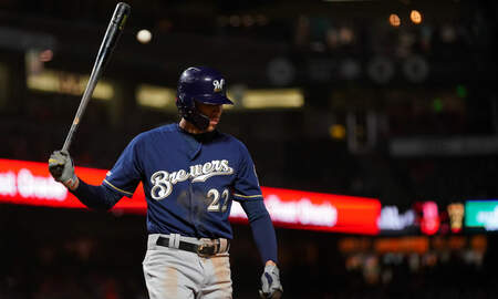 Brewers - Home runs power Giants to series-opening win over Brewers