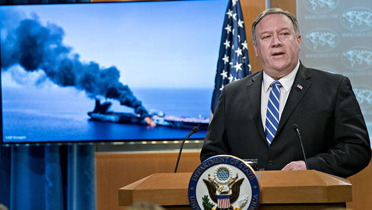 Iran Shot At U.S. Drone As It Flew Over Attacked Oil Tankers: Officials | iHeartRadio