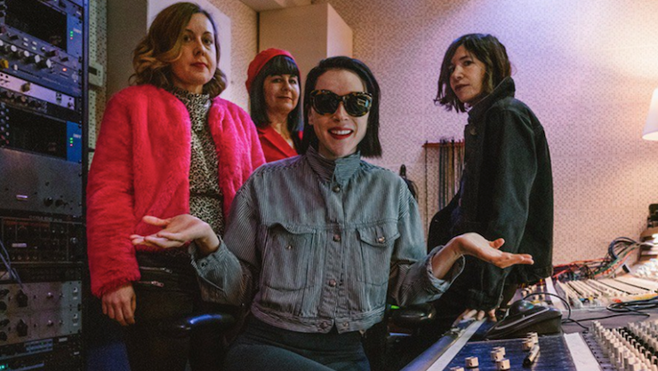 Sleater-Kinney Share New Track From St. Vincent-Produced Album | iHeartRadio